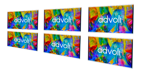 Advoli Enormous Resolution Display Wall