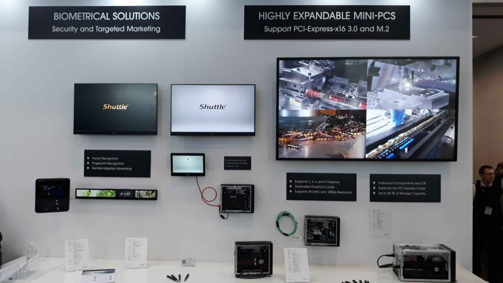 advoli and shuttle computer at Embedded World 2019