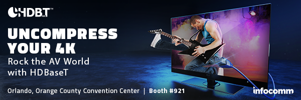 Uncompress your 4K at InfoComm 2019