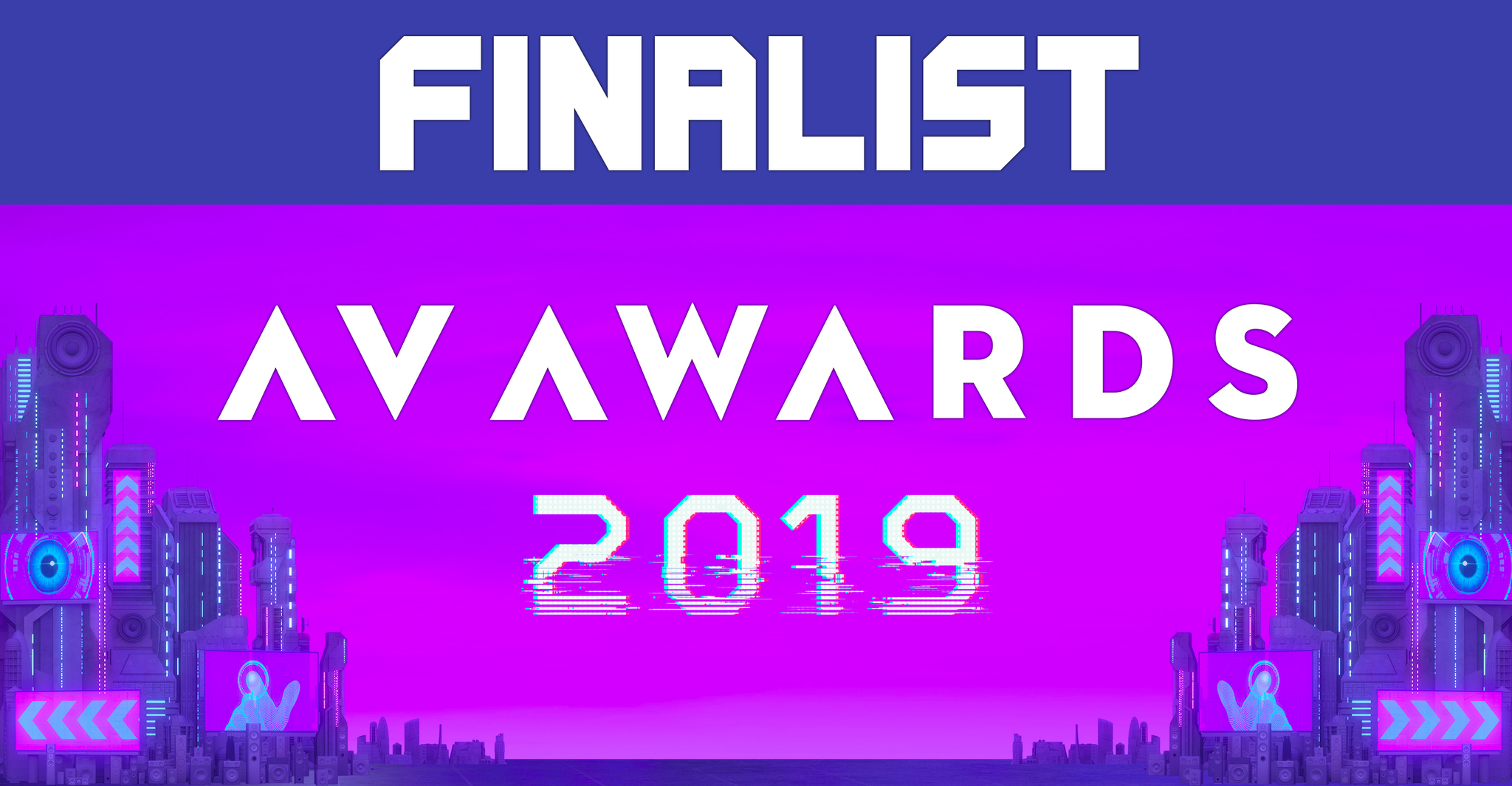 advoli AV Awards 2019 Finalist with TA4E video cards.