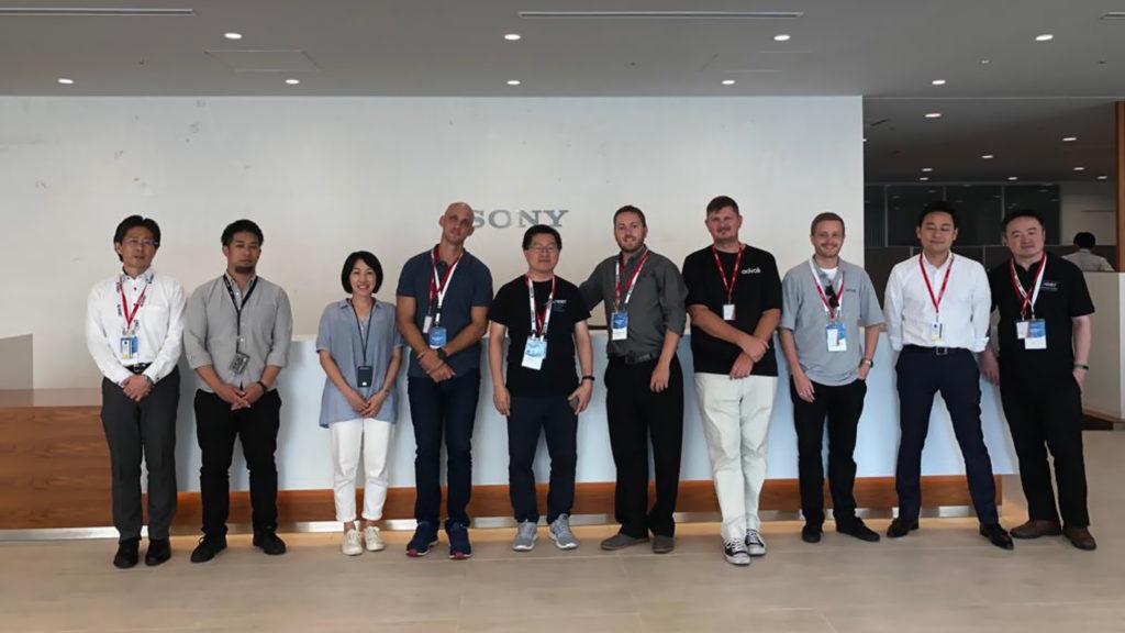 advoli at Sony Japan for HDBaseT Plugfest 2019